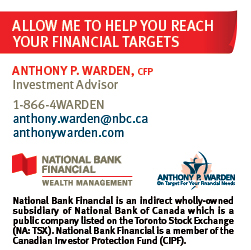 Anthony P. Warden, Investment Advisor
