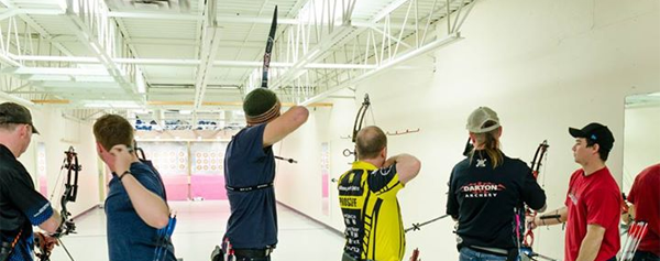 indoor shooting line